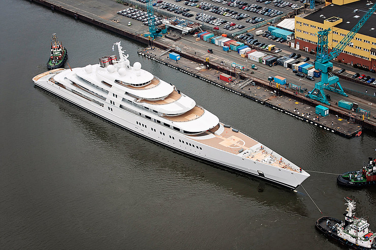 World's Largest Yacht