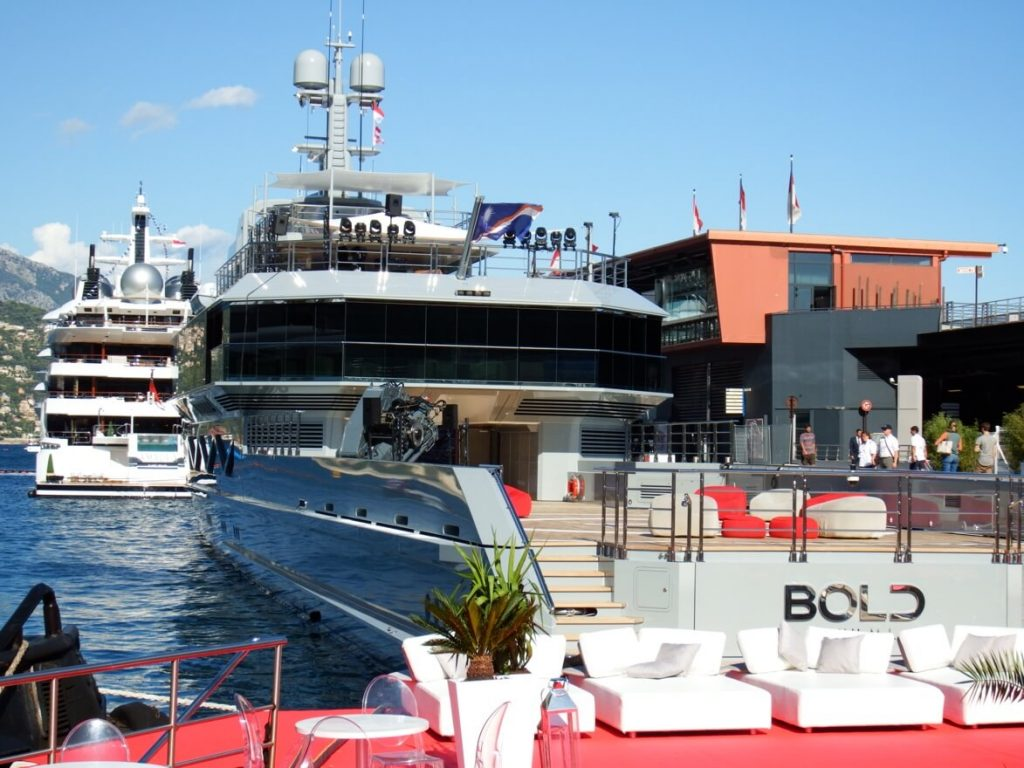 Silver Yachts magnificent M/Y BOLD at Monaco Yacht Festival, she will be at Miami Yacht Show 2020