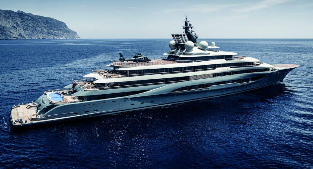luxury boats flying fox