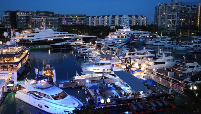 luxury yachts boat show