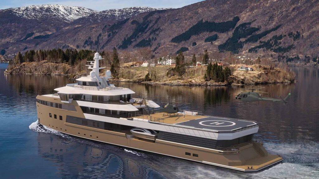 Superyacht La Datcha, un vrai bateau de milliardaire