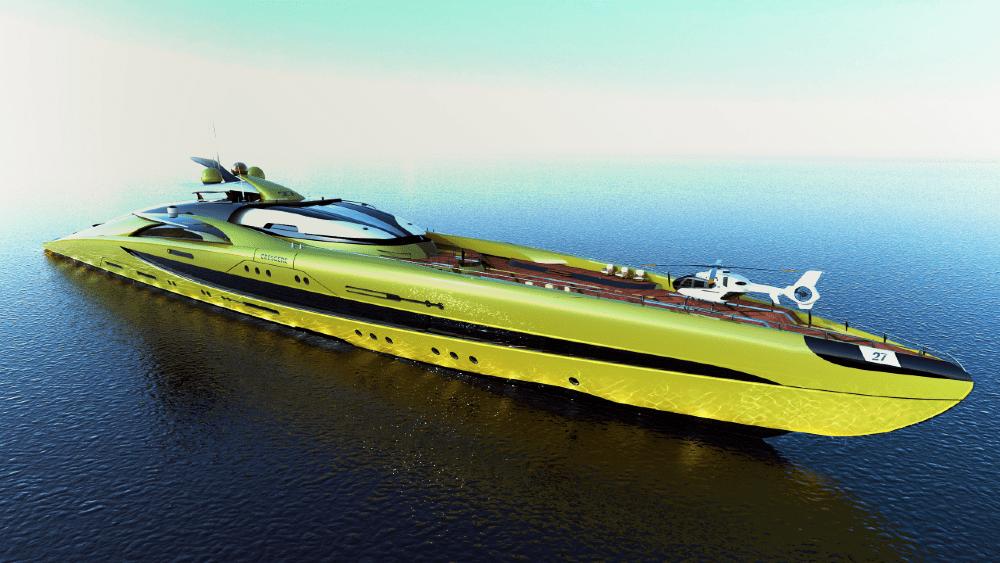 mega yacht concept